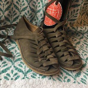 Frye Holly Nubuck Gladiator Sandals